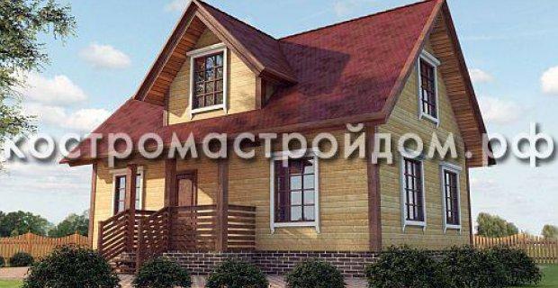Будинок з бруса 6х9