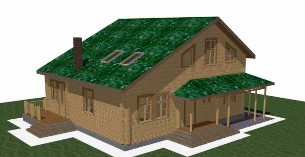 Проект дерев яного будинку з