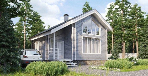 Проект дома из бруса с